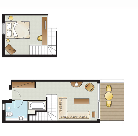 Maisonette Floorplan