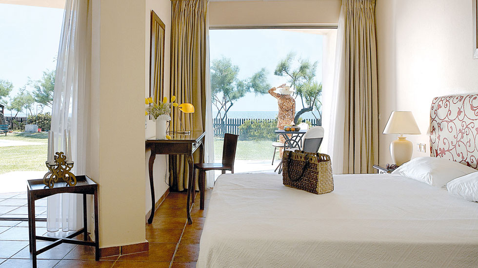 Egnatia Junior Suite with two Private Balconies Aegean Sea View