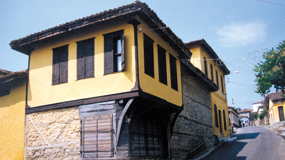 The Museum of Silk at Soufli Town